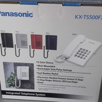 Panasonic integrated telephone system kx-ts500fx