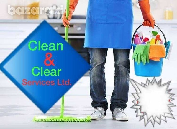 Cleaner with car