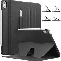 Protective case for ipad air 4th gen. 2020 new ipad 10.9 in stand blac