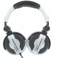 Professional high-power dj headphones.