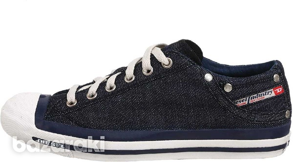 New,diesel casual denim lace-up new shoes size 42-3