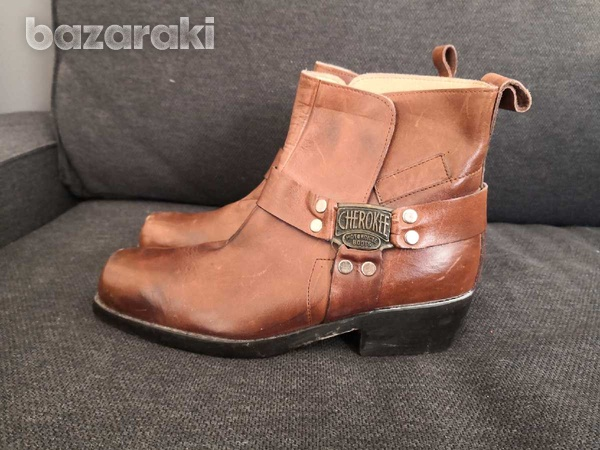 Cherokee motorcycle leather boots 40-2