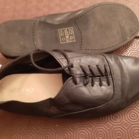 Aldo black leather soft shoes