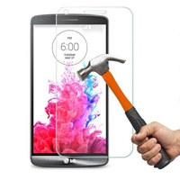 New genuine premium real tempered glass screen protector film for lg o