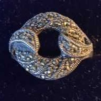 Very refined silver ring