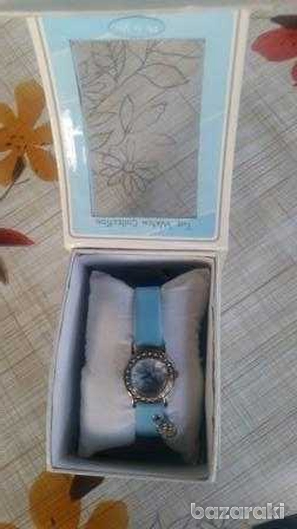 Childrens-girls analogue me to you tatty teddy blue strap watch with c-2