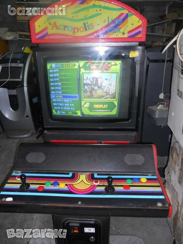 Arcade machine with 28 inch screen and seating-2