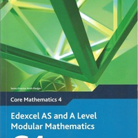 Edexcel as and a level modular mathematics core mathematics 4 textbook