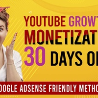 We will help you to monetize your youtube channel in 30 days