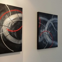 Paintings trilogy