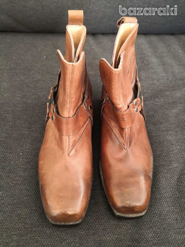 Cherokee motorcycle leather boots 40-7