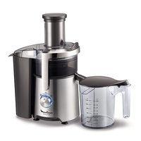 Moulinex ju610d easy fruit juice extractor, 700w, 1.5l, silver / black