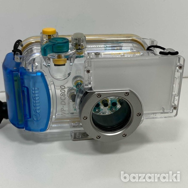 Canon camera with waterproof case - scuba diving-1