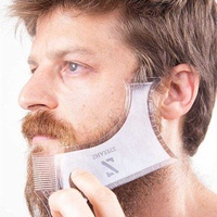 Shape shave template