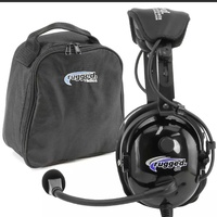 Aviation headset ra900 with case