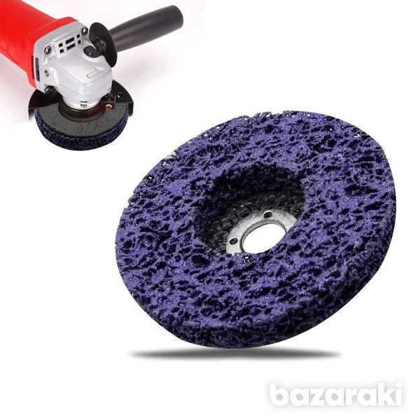 Poly strip flap disc wheel paint rust removal clean for angle grinder-1