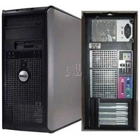 Desktop dell core2duo with monitor complete set