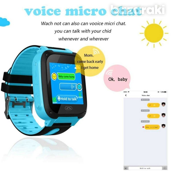 Children safe smart watch 2gtouch screen location tracker with came-11