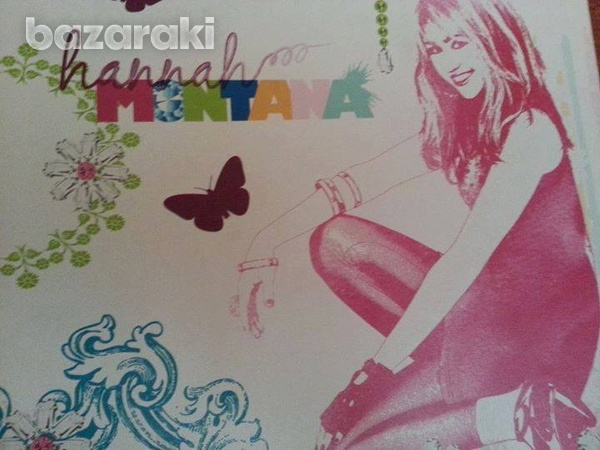 Hannah montana canvas wall picture