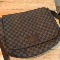 Louis vuitton damier ebene mm mens bags