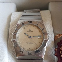 Omega constellation qwart watch