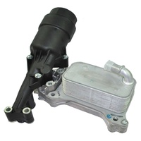 Oil cooler and filter housing