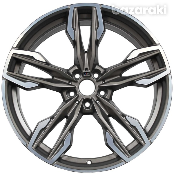 Bmw 718m original 21 inches wheels with runflat tyres for x3/x4-1