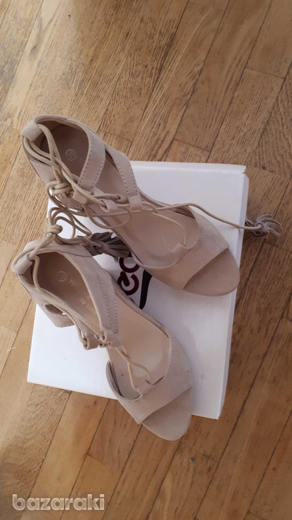 Brand new corso italy brand new pastel pink sandals from corso italy-1