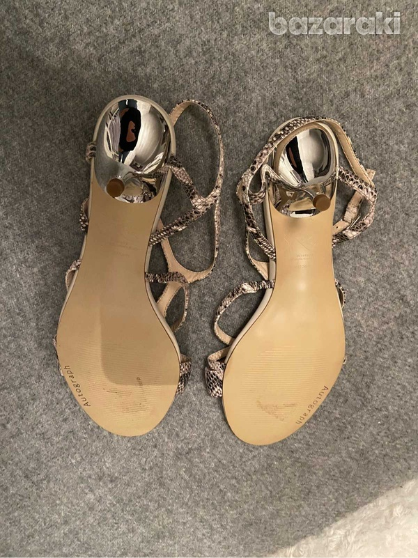 Marks and spencer autograph snake leather sandals-2