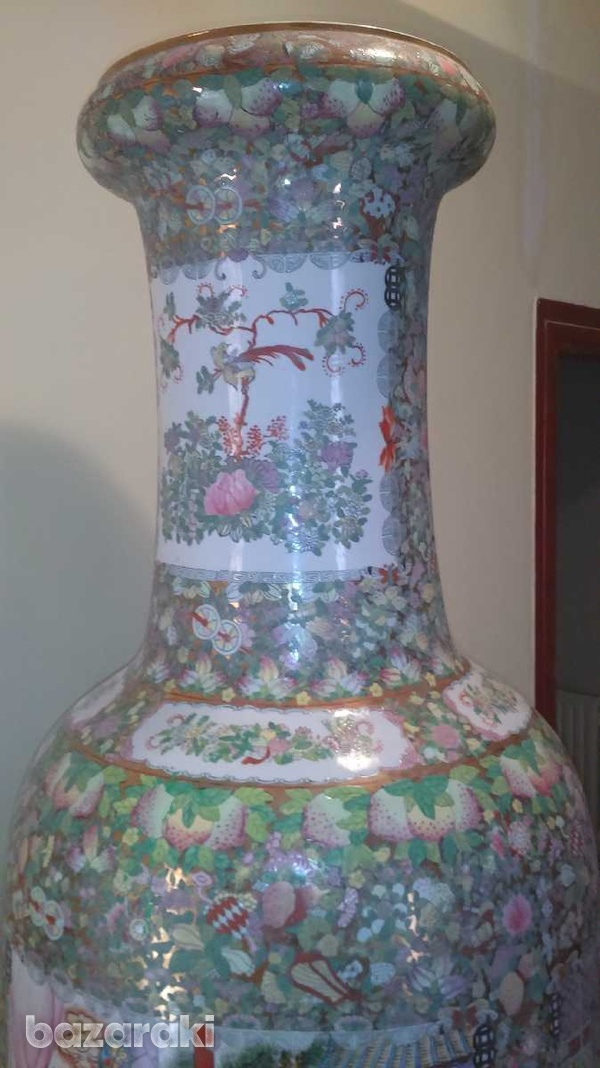 7 foot tall chinese vase, from 1920-6