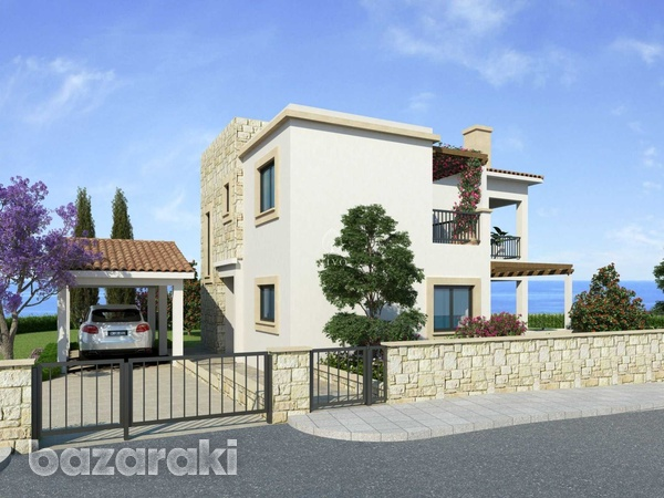 Three bedroom villa close to st george fishing harbour in peyia-5