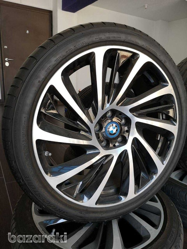 Original bmw i8, 20 inch alloy wheels with tyres-1