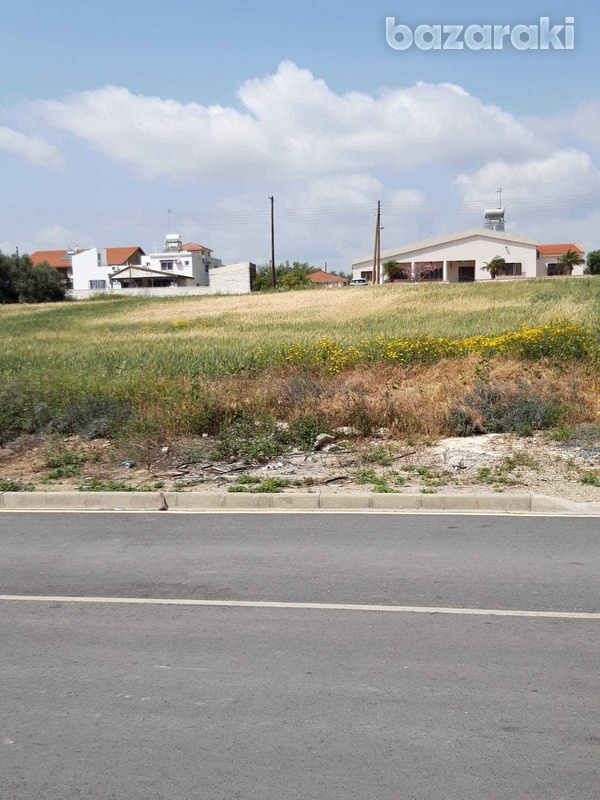 Residential land in mazotos village suitable for development with sea view-1