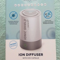 Ion diffuser with covid capsule