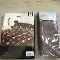 New bedding available also bedding hardly used. duvet covers, sheets