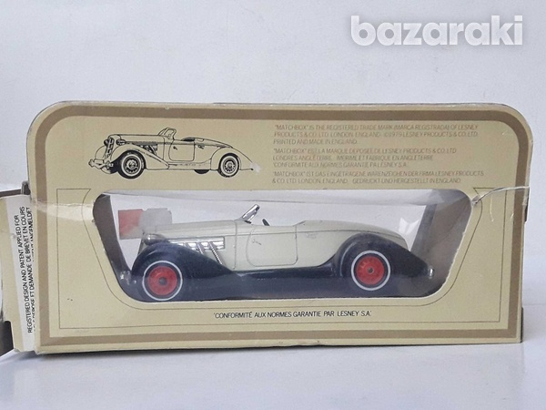 Collectible matchbox diecast car models of yesteryear y19 1935 auburn-4