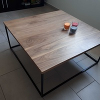 Black walnut coffee table