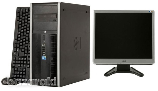 Hp compaq 8000/monitor/kb/mouse-1