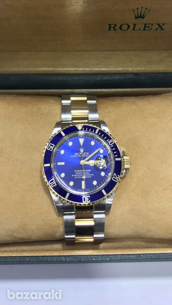 Rolex submariner model with original box and papers-2