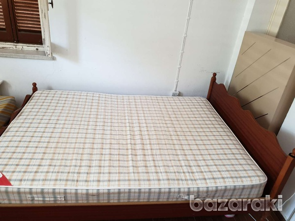 Double bed with mattress-1