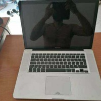Apple a1281 macbook pro 2008 with battery for parts