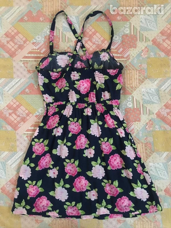 Abercrombie and fitch kids girls floral dress sz m-2