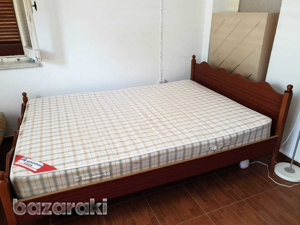Double bed with mattress-3