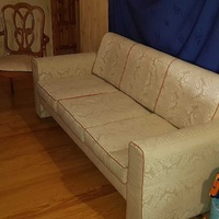 Vintage classy classic couch and chairs set in excellent condition