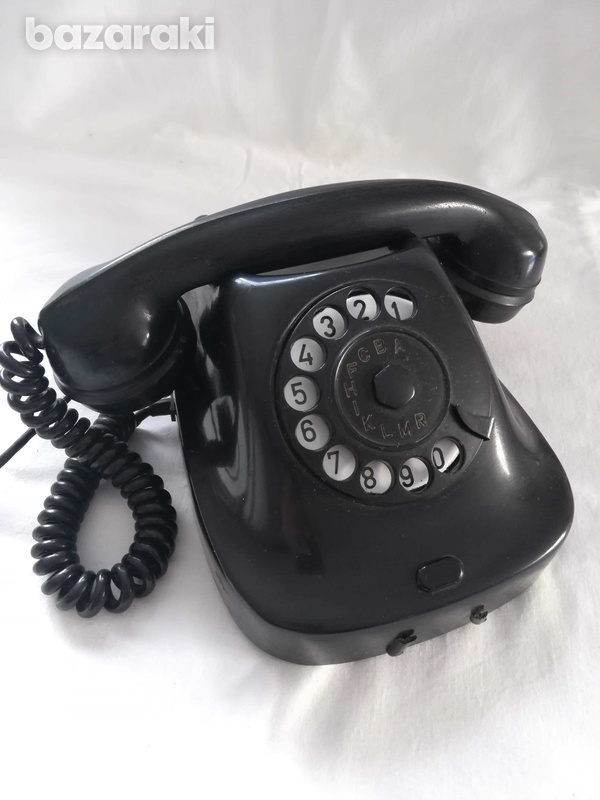 Old retro phone from 1963.-1
