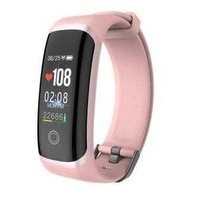 New colour screen smart bracelet bluetooth waterproof heart rate blood