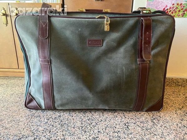 Genuine leather travel bag-1