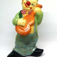 Clown money box 21cm tal