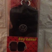 Vw keyring leather case