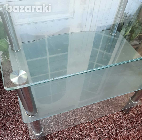 Glass table-4